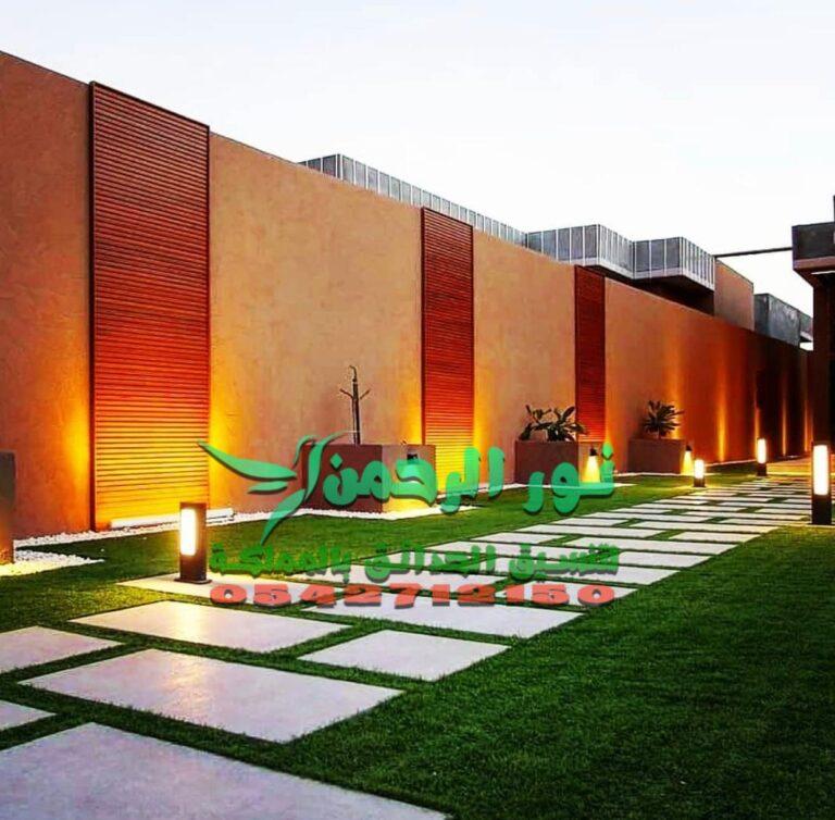 تنسيق حدائق عامة ومستدامة