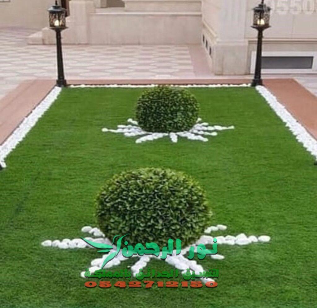 تنسيق وتصميم حدائق 0531167158