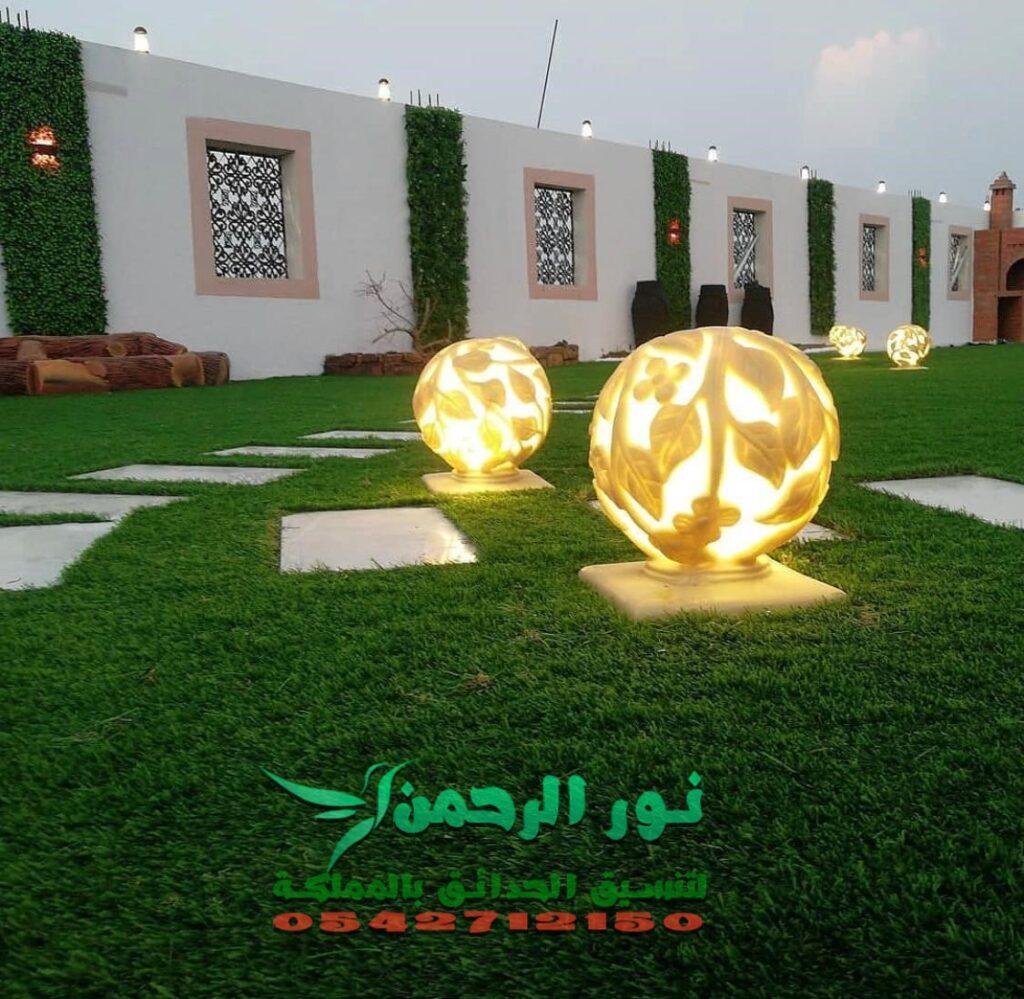 تنسيق الحدائق بالطائف نور الرحمن0542712150